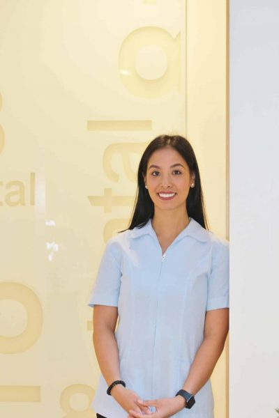 Dental hygienist Emma