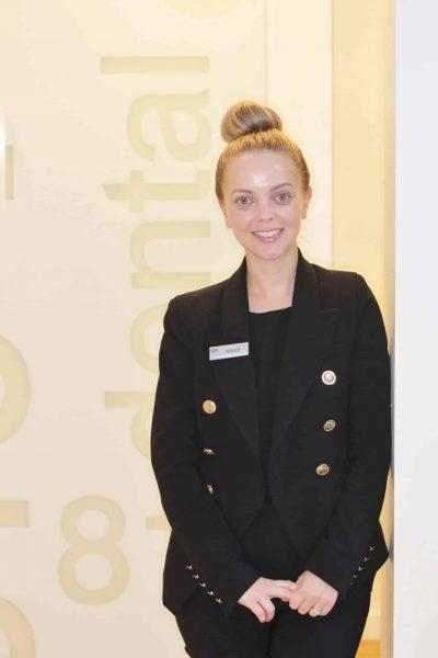 Receptionist Nicole